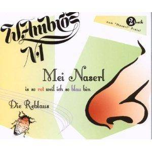 Wolfgang Ambros: Mei Naserl (Single-CD) - Bild 1