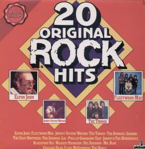 20 Original Rock Hits - Cover