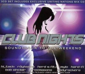 Cover - Axwell: Club Nights - Soundtrack To The Weekend
