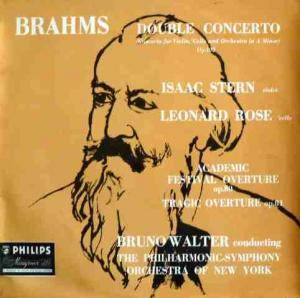 Cover - Johannes Brahms: Double Concerto A-Moll Op. 102 - Overtures Op. 80 & 81