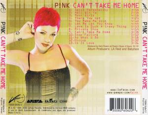 P!nk: Can't Take Me Home (CD) - Bild 2