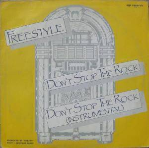 Freestyle: Don't Stop The Rock - Cover