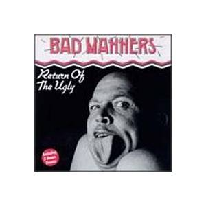 Bad Manners: Return Of The Ugly - Cover