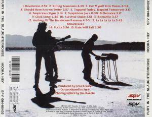 Fury In The Slaughterhouse: Hook A Hey (CD) - Bild 2