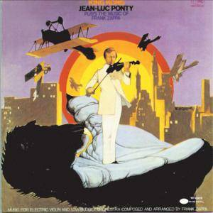 Jean-Luc Ponty: King Kong:Jean-Luc Ponty Plays The Music Of Frank Zappa - Cover