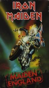 Iron Maiden: Maiden England - Cover