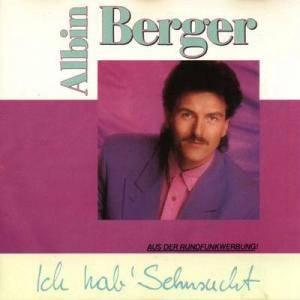 Cover - Albin Berger: Ich Hab' Sehnsucht