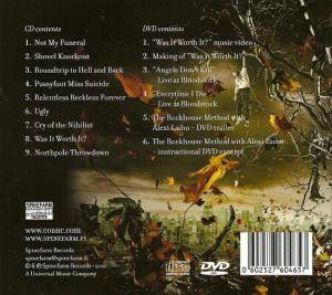 Children Of Bodom: Relentless Reckless Forever (CD + DVD) - Bild 2