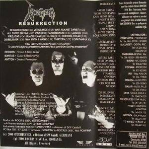 Venom: Resurrection (Tape) - Bild 3