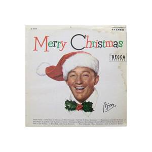Bing Crosby: Merry Christmas - Cover