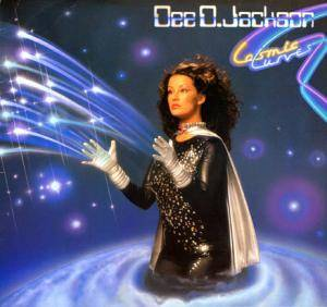 Dee D. Jackson: Cosmic Curves - Cover