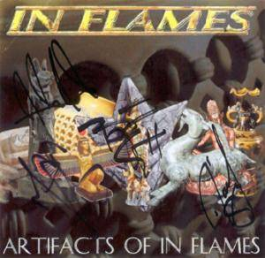 Cover - Dimension Zero: Artifacts Of In Flames