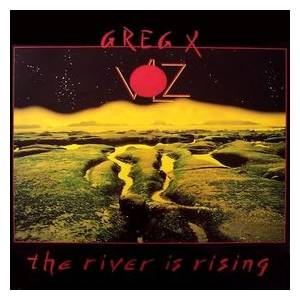 Greg X. Volz: River Is Rising, The - Cover