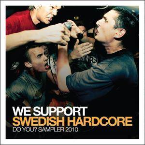 Cover - U.X. Vileheads: We Support Swedish Hardcore - Do You? Sampler 2010