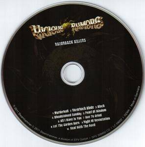 Vicious Rumors: Razorback Killers (CD) - Bild 3