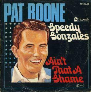 Pat Boone: Speedy Gonzales - Cover