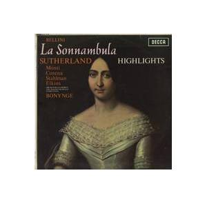 Cover - Vincenzo Bellini: Sonnambula - Highlights, La