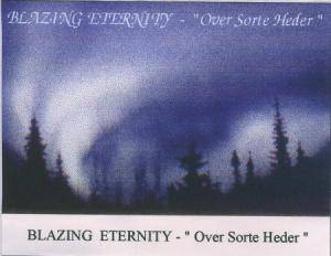 Cover - Blazing Eternity: Over Sorte Heder