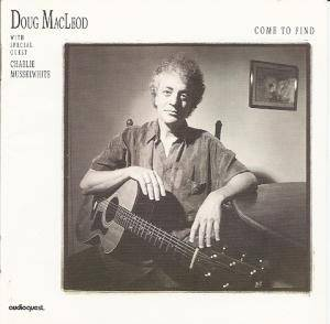 Cover - Doug MacLeod: Come To Find