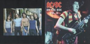 AC/DC: On The Box Vol 2 Bootleg - Cover