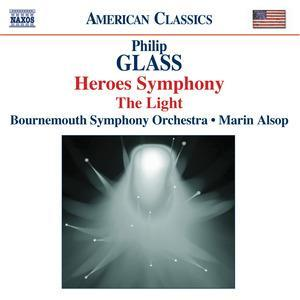 Philip Glass: Heroes Symphony / The Light - Cover