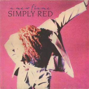 Simply Red: A New Flame (LP) - Bild 1
