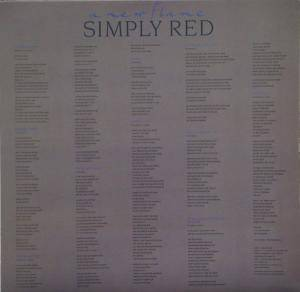 Simply Red: A New Flame (LP) - Bild 3