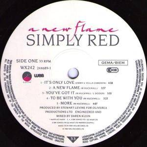 Simply Red: A New Flame (LP) - Bild 5