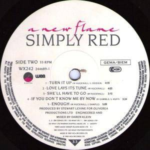 Simply Red: A New Flame (LP) - Bild 6