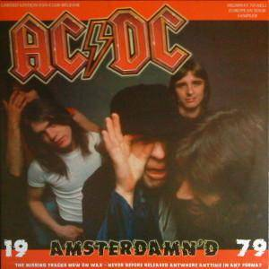 Cover - AC/DC: 19 Amsterdamn'd 79