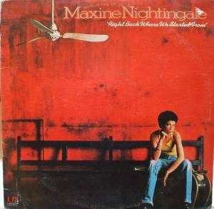 Cover - Maxine Nightingale: Right Back Where We Started From