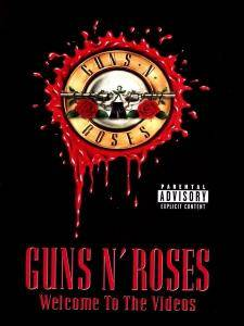 Guns N' Roses: Welcome To The Videos - Cover
