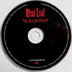 Meat Loaf: Bat Out Of Hell III: The Monster Is Loose (CD) - Bild 3