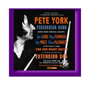 The Pete York Percussion Band: Extension 345 - Live (CD) - Bild 1