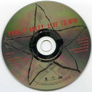 Paul Stanley: Live To Win (CD) - Bild 3