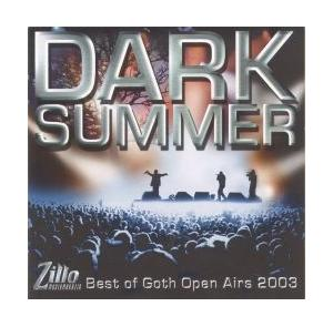 Zillo - Dark Summer - Best Of Goth Open Airs 2003 - Cover