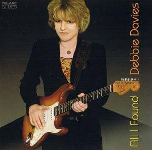 Cover - Debbie Davies: All I Found