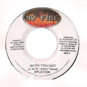Capleton: Woman Yuh Hot / Wrong - Cover