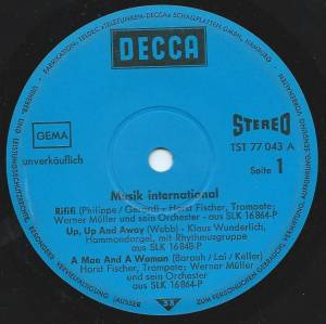 Cover - Frank Chacksfield & His Orchestra: Musik International
