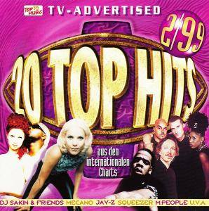Cover - Christian Wunderlich: 20 Top Hits Aus Den Charts - 2/99