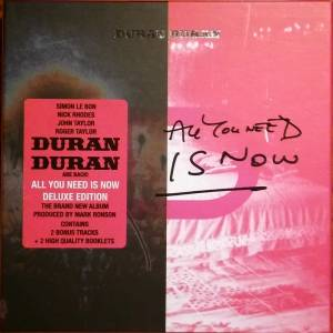 Duran Duran: All You Need Is Now - Cover