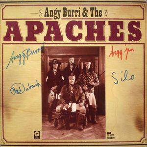 Angy Burri & The Apaches: Apaches - Cover