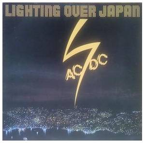 AC/DC: Lighting Over Japan - Cover