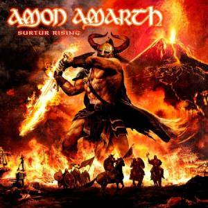 Amon Amarth: Surtur Rising - Cover