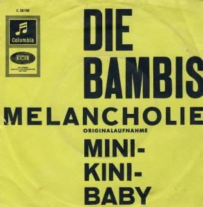 Die Bambis: Melancholie - Cover