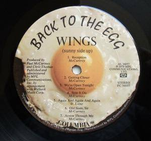 Wings: Back To The Egg (LP) - Bild 4