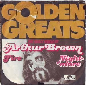 Cover - Arthur Brown: Golden Greats