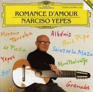 Cover - Narciso Yepes: Romance D´amour