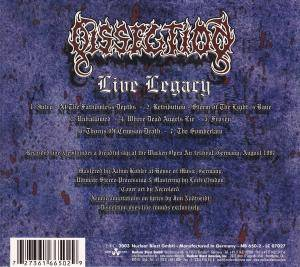 Dissection: Live Legacy (CD) - Bild 4