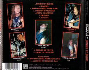 Exodus: Bonded By Blood (CD) - Bild 2
